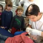 Wizyty adaptacyjne dzieci z przedszkola Różany Ogródek